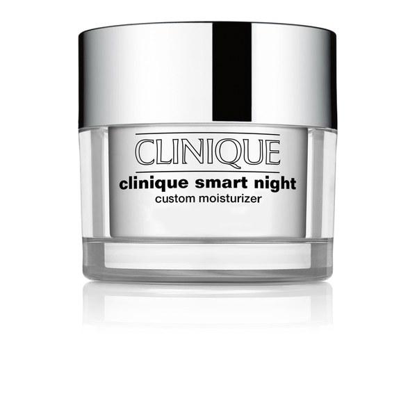 Clinique Smart Night Custom crème de nuit hydratante - Peau sèche/mixte (50ml)