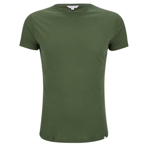 Orlebar Brown Men's OB-T Dipped Hem T-Shirt - Army