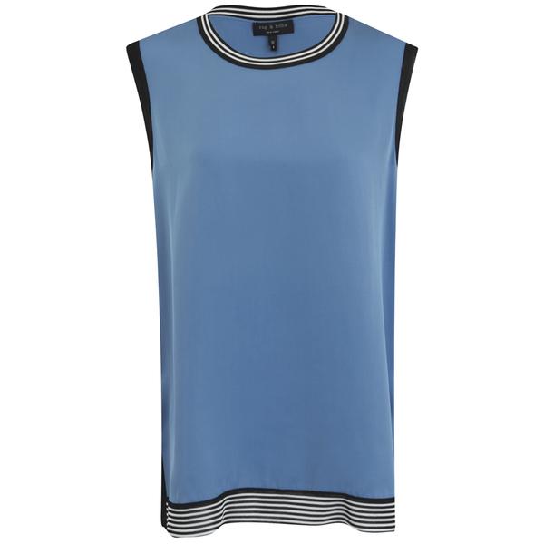 rag & bone Women's Anita Tank Top - Parisian Blu