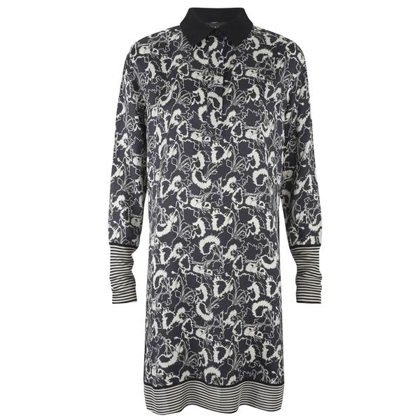 rag & bone Women's Anita Dress - Black/White