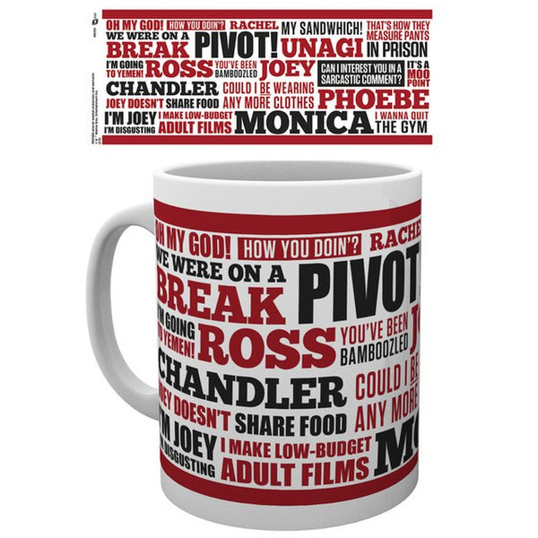 Friends Quotes - Mug