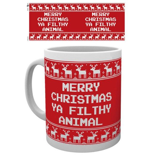 Christmas Filthy Animal - Mug