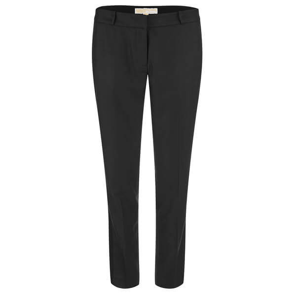 MICHAEL MICHAEL KORS Women's Straight Tux Miranda Trousers - Black
