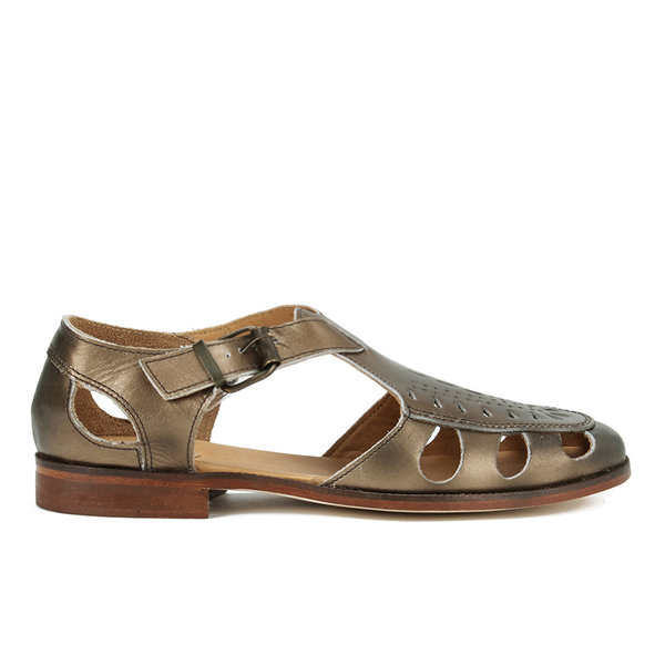 H Shoes by Hudson Women's Sherbert Leather Sandals - Bronze