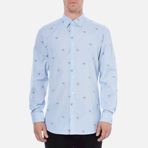 Vivienne Westwood MAN Men's Classic Cut Away Long Sleeve Shirt - Bird Coupe