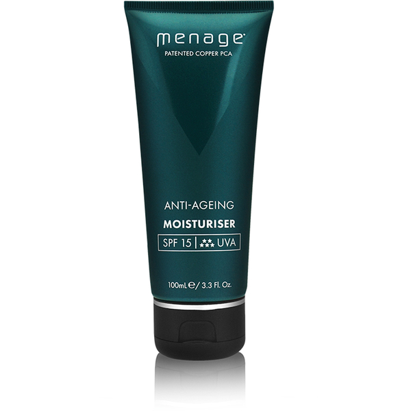 Menage Anti-Ageing Moisturiser SPF15 (100ml)