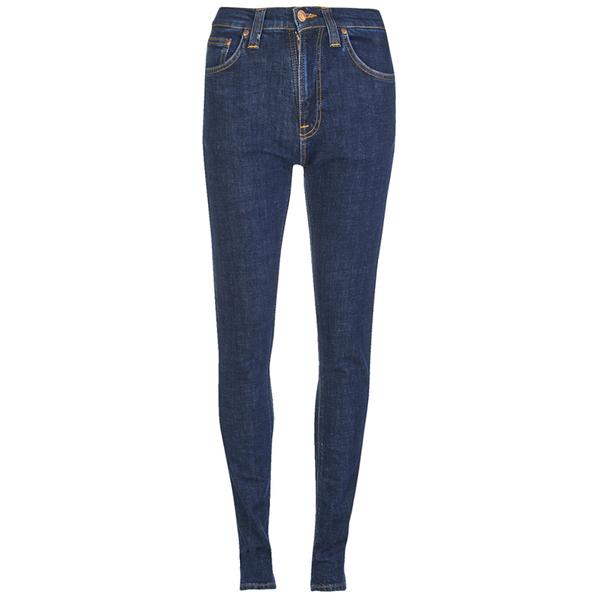 Nudie Jeans Women's Pipe Led Skinny Jeans - Night Shadow