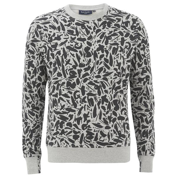 Paul Smith Jeans Men's Printed Sweat Shirt - Grey