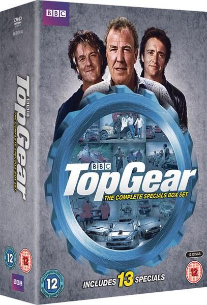 Top Gear The Complete Specials Box Set Dvd Zavvi