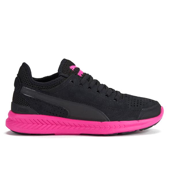 Puma Women's Ignite Sock Low Top Trainers - Black/Pink
