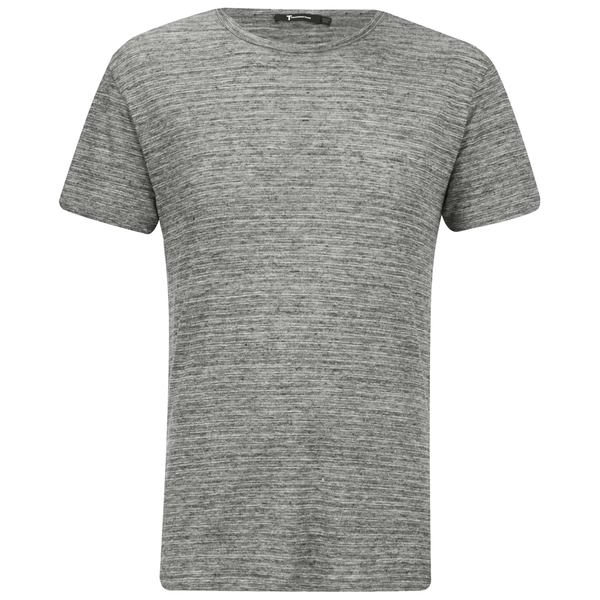 T by Alexander Wang Men's Short Sleeve T-Shirt - Heather Grey
