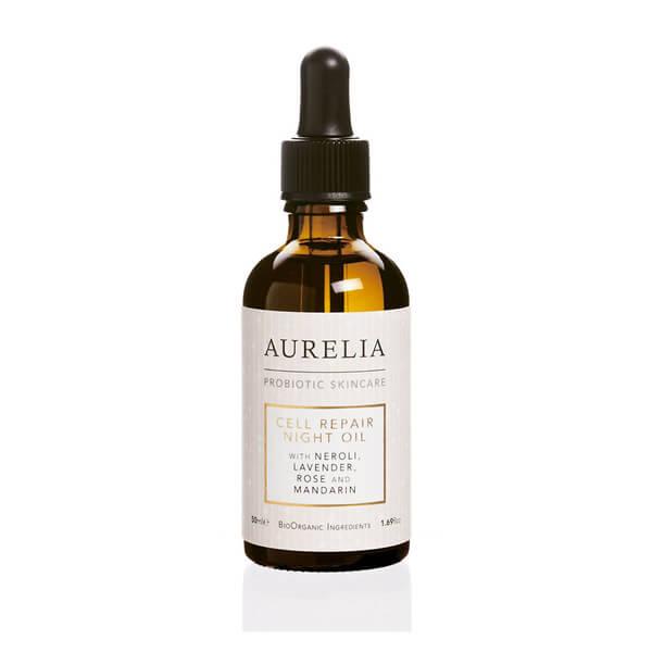 Aurelia Probiotic Skincare Huile Réparatrice Cellulaire de Nuit 50ml