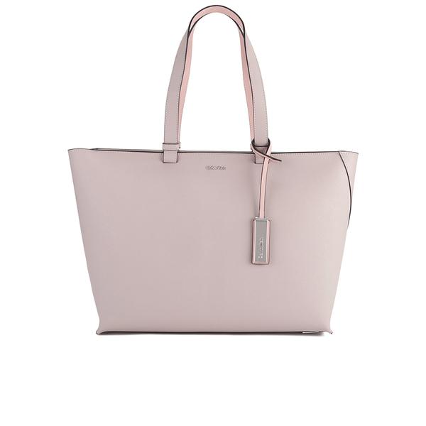 Model Calvin Klein Women39s Carsten City Large Tote Bag  LapisBlack Womens