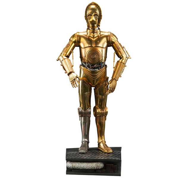 Sideshow Collectibles Star Wars Premium C-3PO 18 Inch Figure