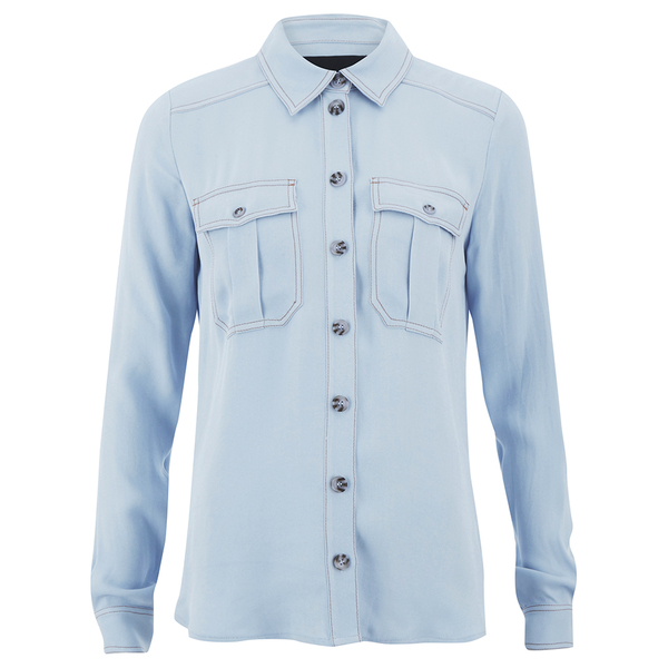 Designers Remix Women's Nova Shirt - Light Blue