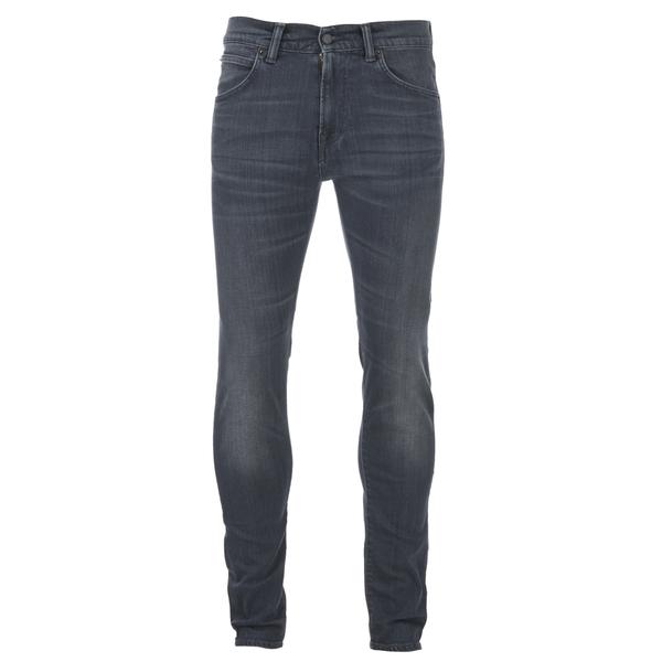 Edwin Men's ED85 Slim Tapered Denim Jeans - Dark Trip Used