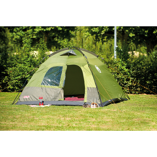 Coleman Instant Dome Tent 5 Person Green Iwoot