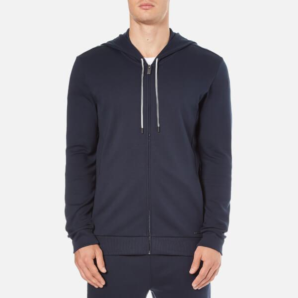 HUGO Men's Dalermo Zipped Hoody - Navy