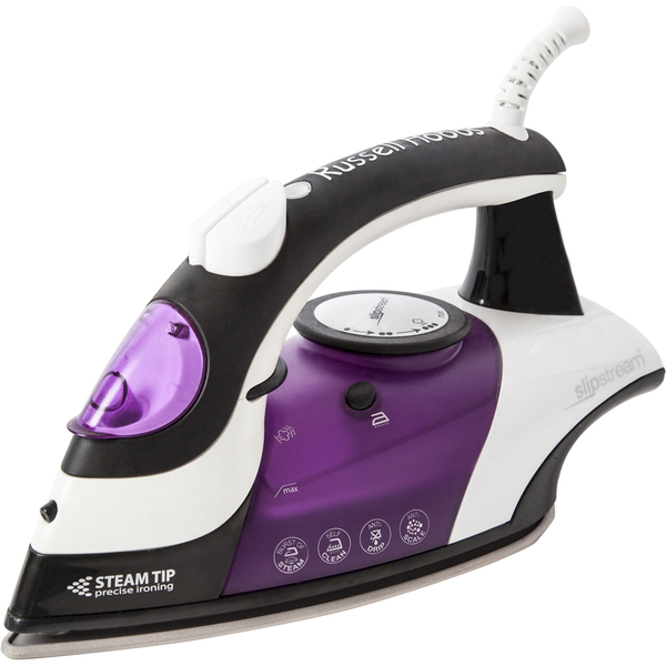 russell hobbs 15202 slip stream steam iron white iwoot. Black Bedroom Furniture Sets. Home Design Ideas
