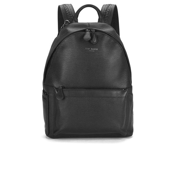 ted baker men 39 s heyriko woven leather backpack black. Black Bedroom Furniture Sets. Home Design Ideas