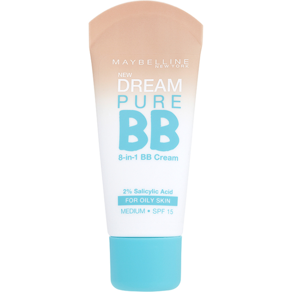 Maybelline Dream Pure BB Cream SPF 15 Medium 30 ml