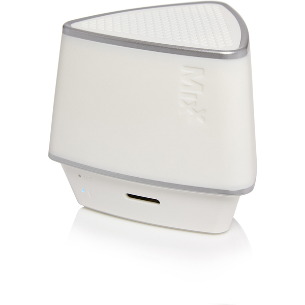 Mixx S1  Bluetooth Wireless Portable Speaker (Inc hands free conference calling) - Neon White