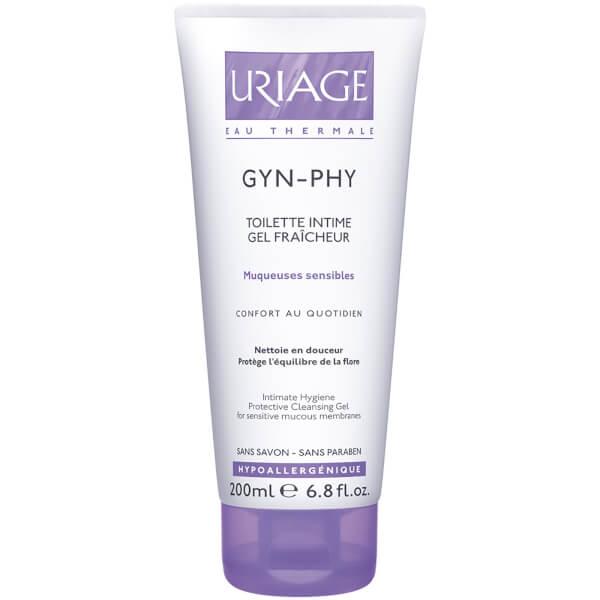 Gel Limpiador Higiene Íntima Uriage Gyn-Phy (200ml)