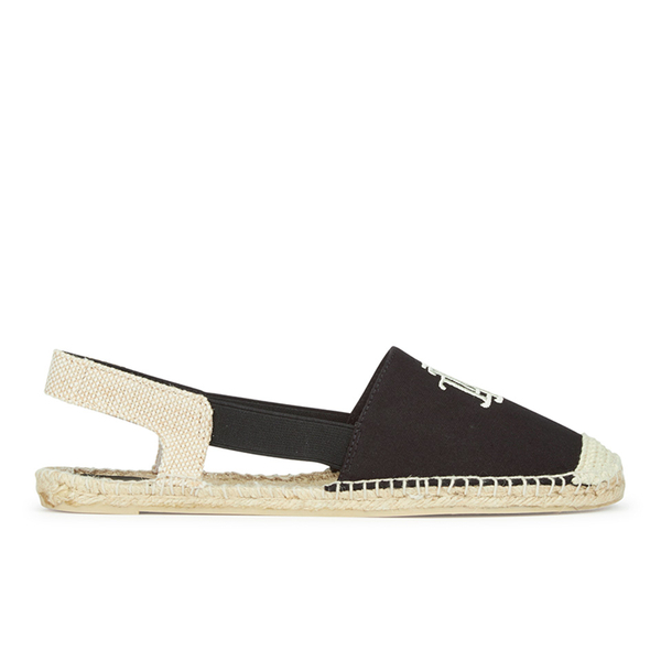 lauren ralph lauren women 39 s dafny canvas espadrilles black free uk delivery. Black Bedroom Furniture Sets. Home Design Ideas