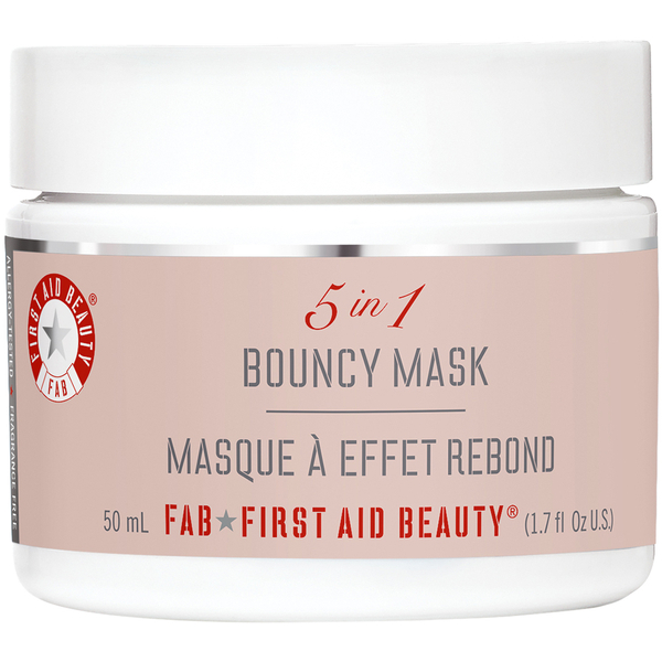 First aid beauty 5 in 1 bouncy mask review