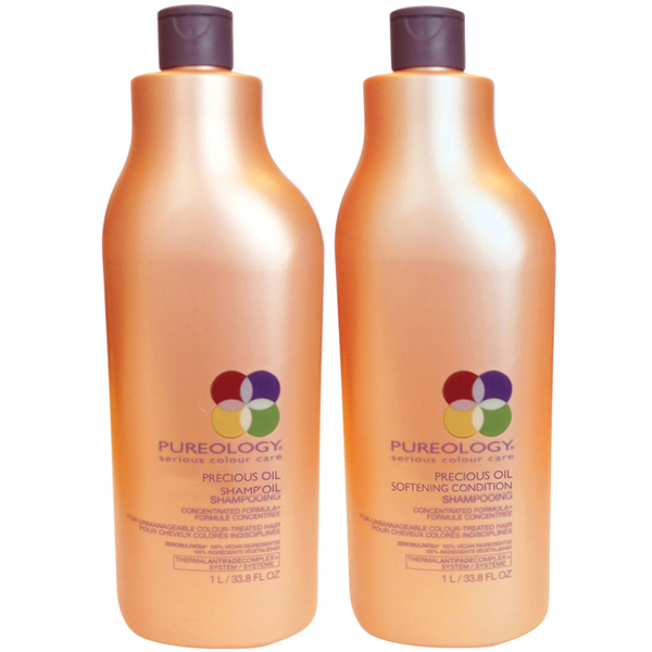 Pureology Precious Oil Shampoo and Conditioner (1000ml)