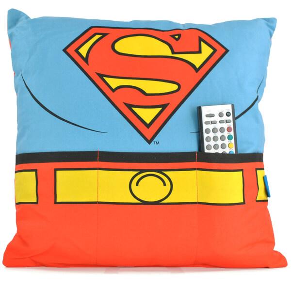 DC Comics Superman Cushion with Pockets