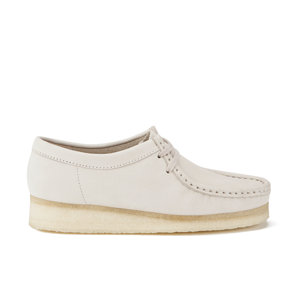 clarks originals s wallabee shoes white womens