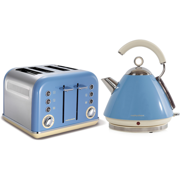 Morphy Richards Toaster: Morphy Richards Accents 102256NO 1.5L Pyramid Kettle And