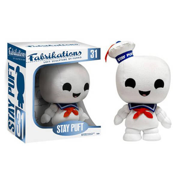 Ghostbusters Stay Puft Marshmallow Man Fabrikations Plush Figure