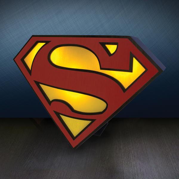 Dc Comics Superman Logo Light Iwoot