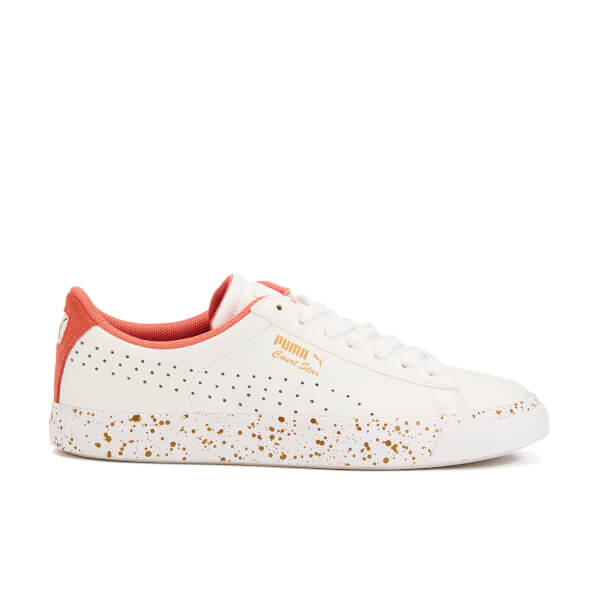 Puma Women's Court Star Vulcan Remastered Trainers - Puma White/Porcelain Rose