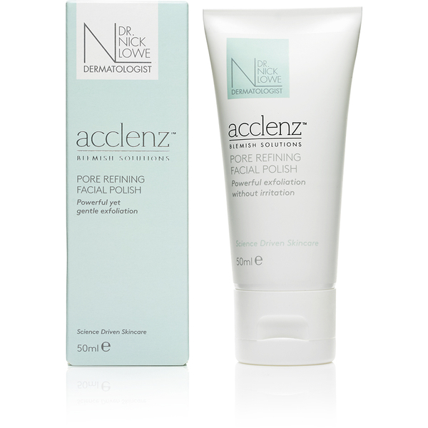 Dr. Nick Lowe acclenz Pore Refining Facial Polish 50ml