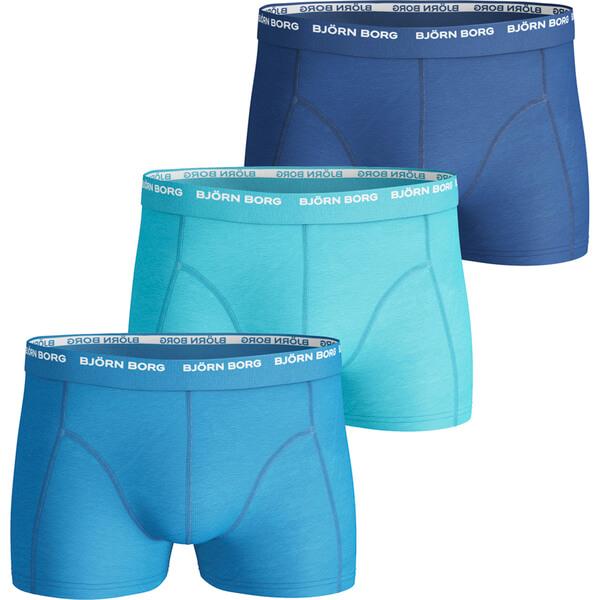 bjorn borg men 39 s 3 pack boxer shorts dresden blue mens underwear. Black Bedroom Furniture Sets. Home Design Ideas