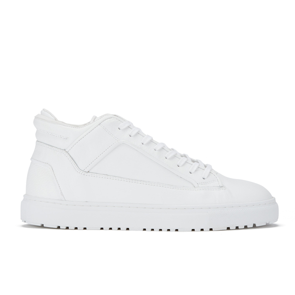 ETQ. Men's Mid Top 2 Leather Sneakers - White