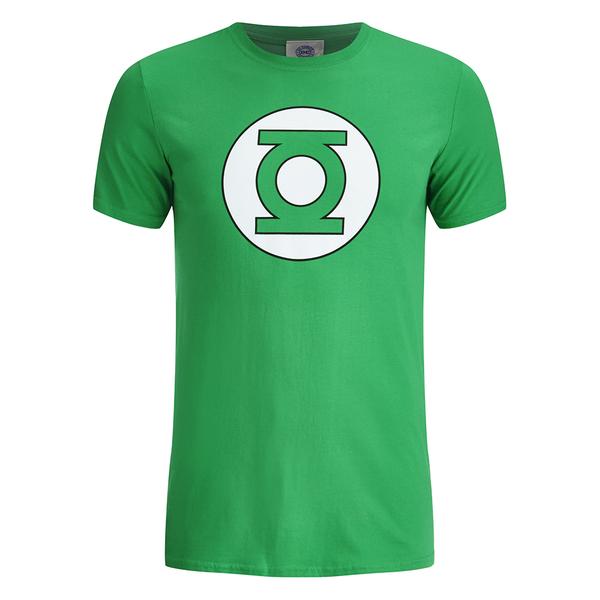 DC Comics Green Lantern Men's Circle Logo T-Shirt - Green