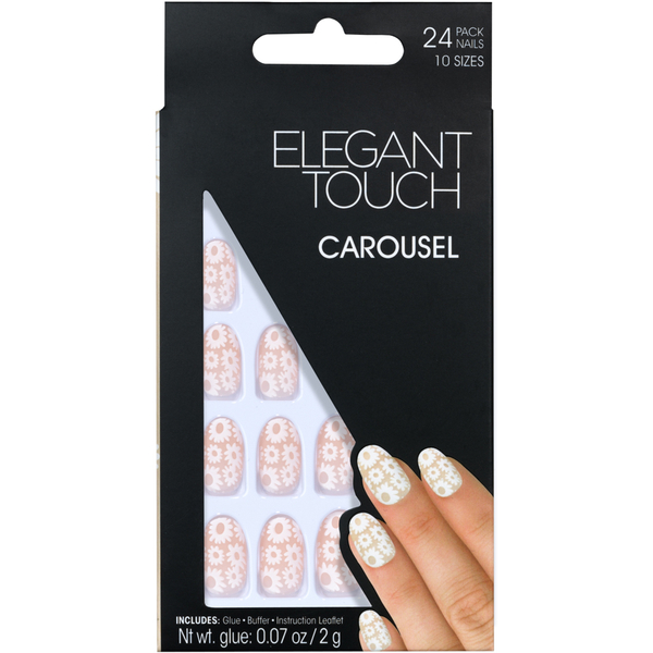 Elegant Touch Trend Nails - Carousel (Mate)