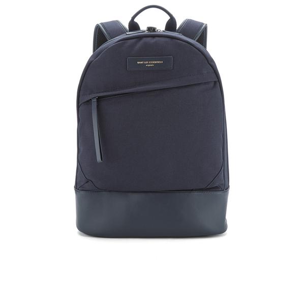 WANT LES ESSENTIELS Men's Kastrup Backpack - Navy/Navy