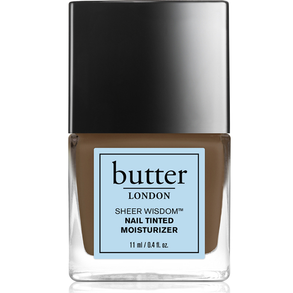 butter LONDON Sheer Wisdom Nail Tinted Moisturiser 11ml - Deep