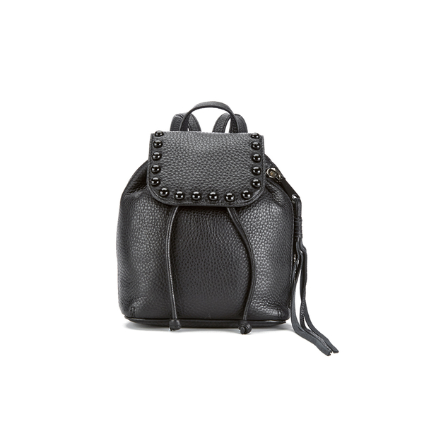 Rebecca Minkoff Women's Micro Unlined Backpack - Black
