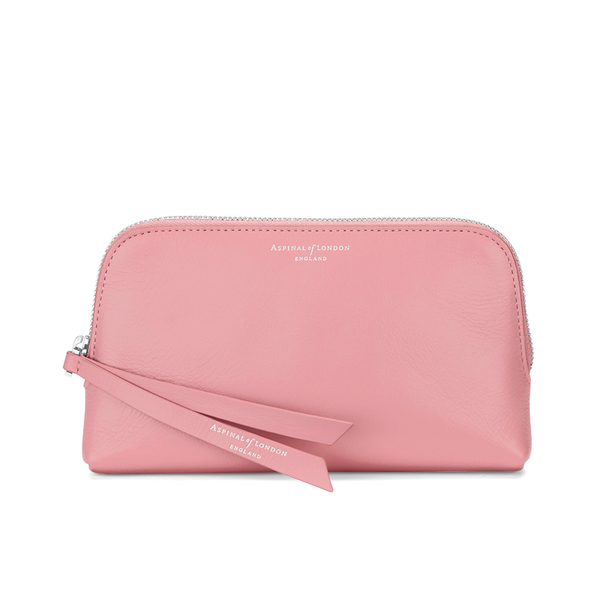 Aspinal of London Women's Essential Cosmetic Case - Dusky Pink