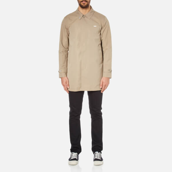 OBEY Clothing Men's Sneaky Trench Coat - Tan