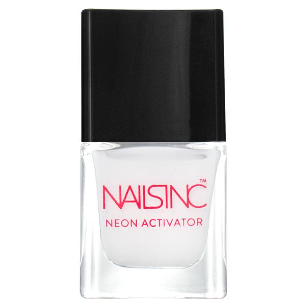 nails inc. Neon Activator Nail Polish - Neon White Base 5ml
