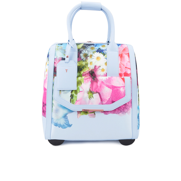 Ted Baker Womenu0026#39;s Vickey Floral Focus Travel Bag - Powder Blue