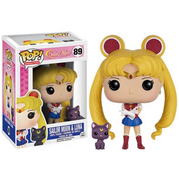 Sailor Moon & Luna Pop! Vinyl Figure