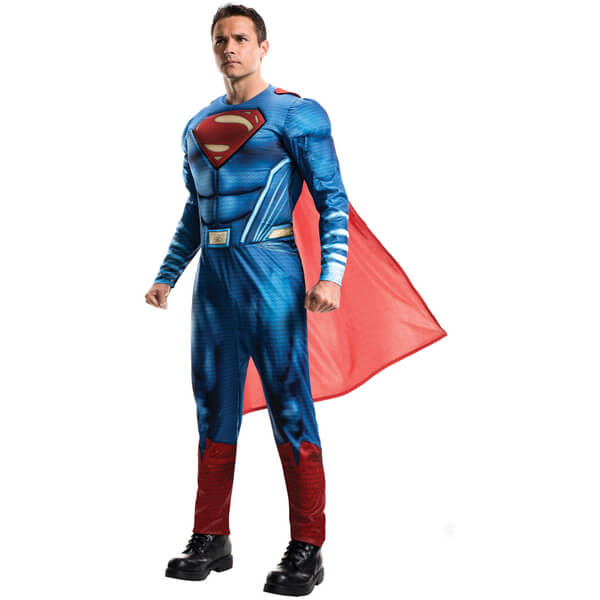 DC Comics Men's Superman Fancy Dress